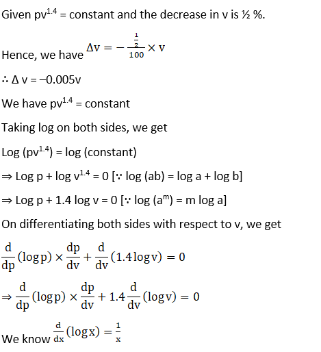 RD Sharma Solutions for Class 12 Maths Chapter 14 Differentials, Errors and Approximations Image 14