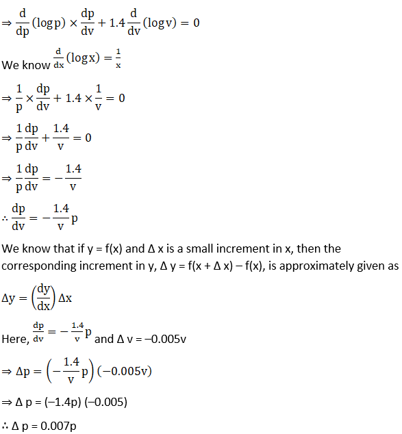 RD Sharma Solutions for Class 12 Maths Chapter 14 Differentials, Errors and Approximations Image 15