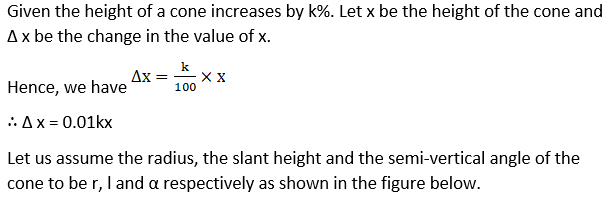 RD Sharma Solutions for Class 12 Maths Chapter 14 Differentials, Errors and Approximations Image 17