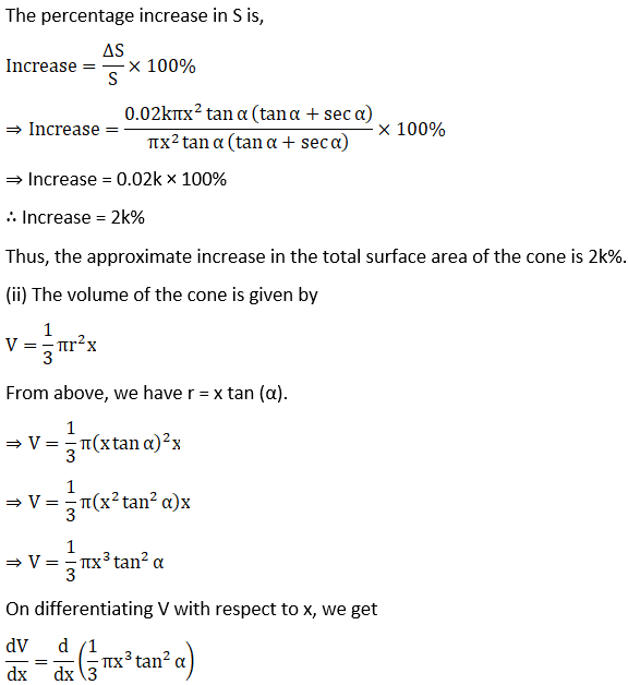 RD Sharma Solutions for Class 12 Maths Chapter 14 Differentials, Errors and Approximations Image 22