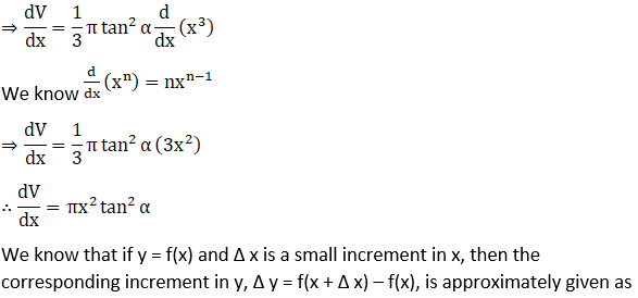RD Sharma Solutions for Class 12 Maths Chapter 14 Differentials, Errors and Approximations Image 23