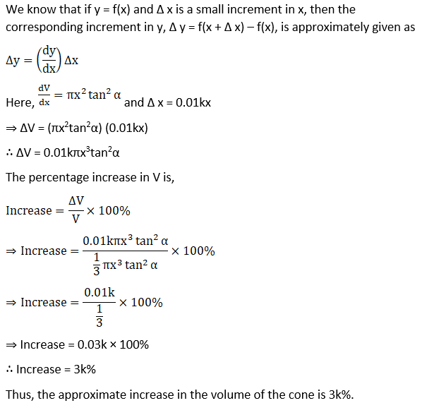 RD Sharma Solutions for Class 12 Maths Chapter 14 Differentials, Errors and Approximations Image 24
