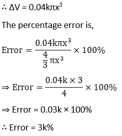 RD Sharma Solutions for Class 12 Maths Chapter 14 Differentials, Errors and Approximations Image 27