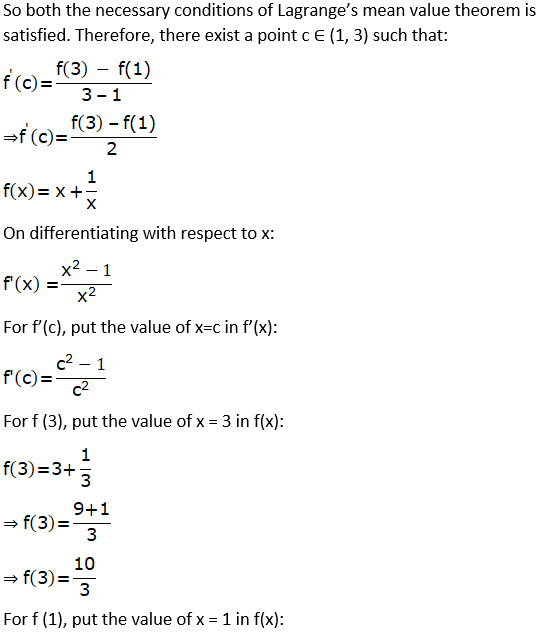 RD Sharma Solutions for Class 12 Maths Chapter 15 Mean Value Theorems Image 102