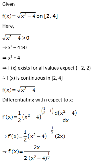 RD Sharma Solutions for Class 12 Maths Chapter 15 Mean Value Theorems Image 109