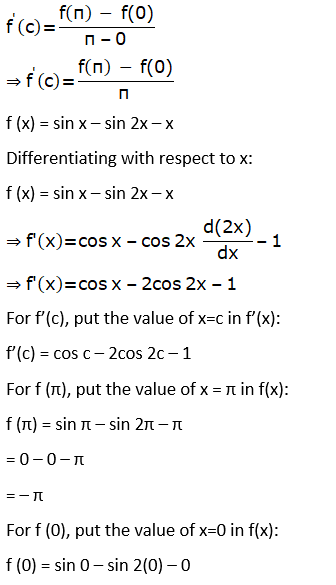 RD Sharma Solutions for Class 12 Maths Chapter 15 Mean Value Theorems Image 118