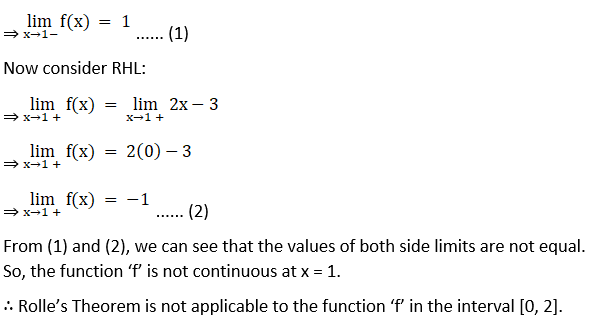 RD Sharma Solutions for Class 12 Maths Chapter 15 Mean Value Theorems Image 12