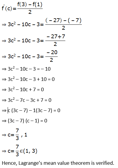 RD Sharma Solutions for Class 12 Maths Chapter 15 Mean Value Theorems Image 122