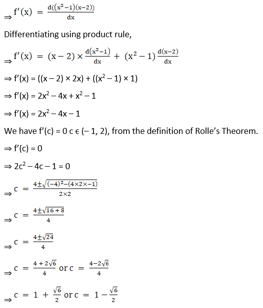 RD Sharma Solutions for Class 12 Maths Chapter 15 Mean Value Theorems Image 20