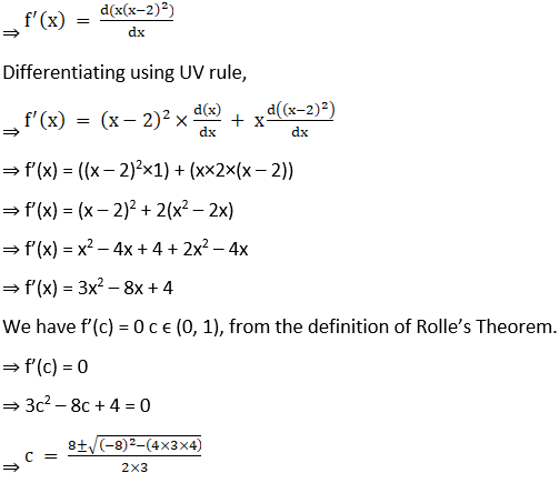 RD Sharma Solutions for Class 12 Maths Chapter 15 Mean Value Theorems Image 24