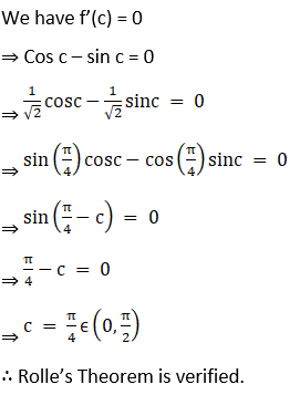 RD Sharma Solutions for Class 12 Maths Chapter 15 Mean Value Theorems Image 53