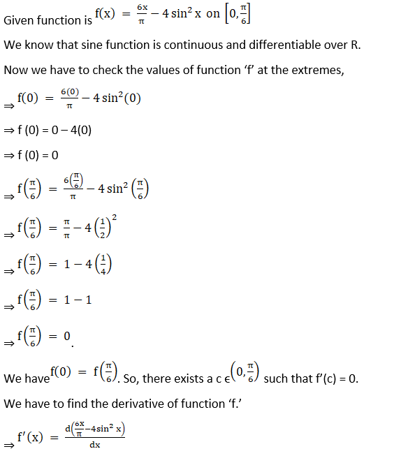 RD Sharma Solutions for Class 12 Maths Chapter 15 Mean Value Theorems Image 61