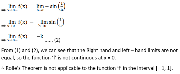 RD Sharma Solutions for Class 12 Maths Chapter 15 Mean Value Theorems Image 7