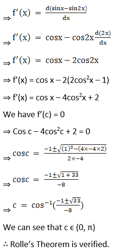 RD Sharma Solutions for Class 12 Maths Chapter 15 Mean Value Theorems Image 70