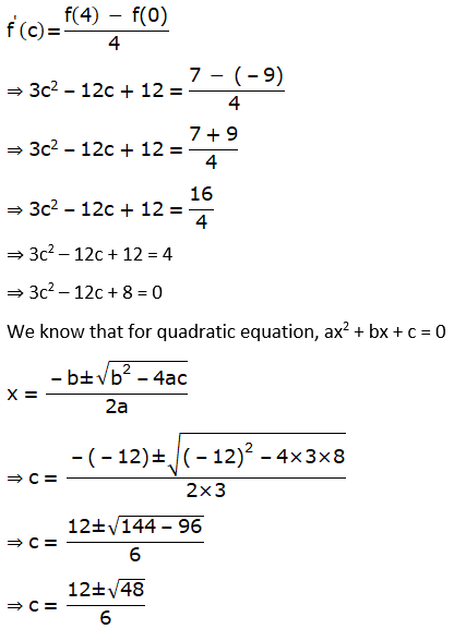 RD Sharma Solutions for Class 12 Maths Chapter 15 Mean Value Theorems Image 87