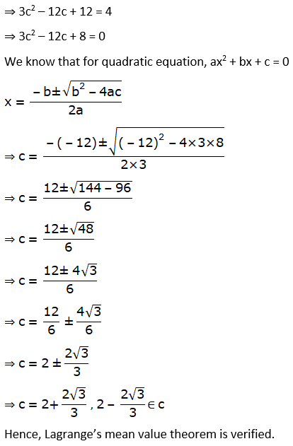RD Sharma Solutions for Class 12 Maths Chapter 15 Mean Value Theorems Image 88