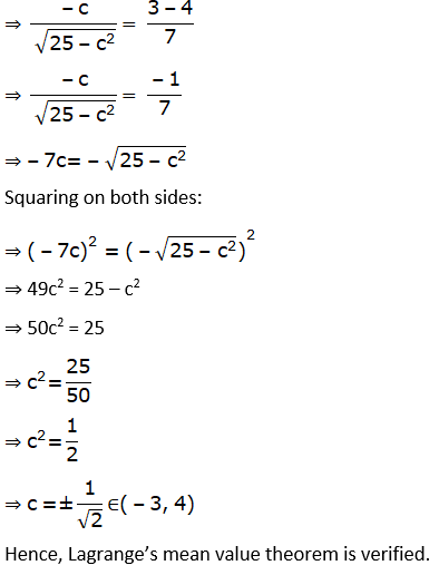 RD Sharma Solutions for Class 12 Maths Chapter 15 Mean Value Theorems Image 95