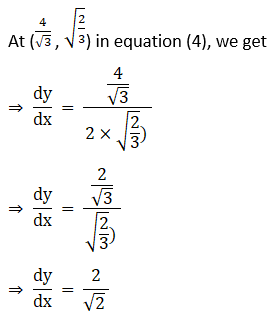 RD Sharma Solutions for Class 12 Maths Chapter 16 Tangents and Normals Image 108