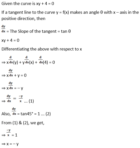 RD Sharma Solutions for Class 12 Maths Chapter 16 Tangents and Normals Image 42