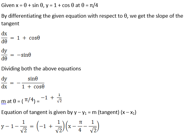RD Sharma Solutions for Class 12 Maths Chapter 16 Tangents and Normals Image 58