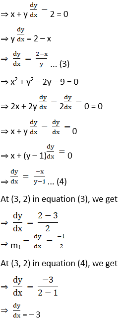 RD Sharma Solutions for Class 12 Maths Chapter 16 Tangents and Normals Image 90