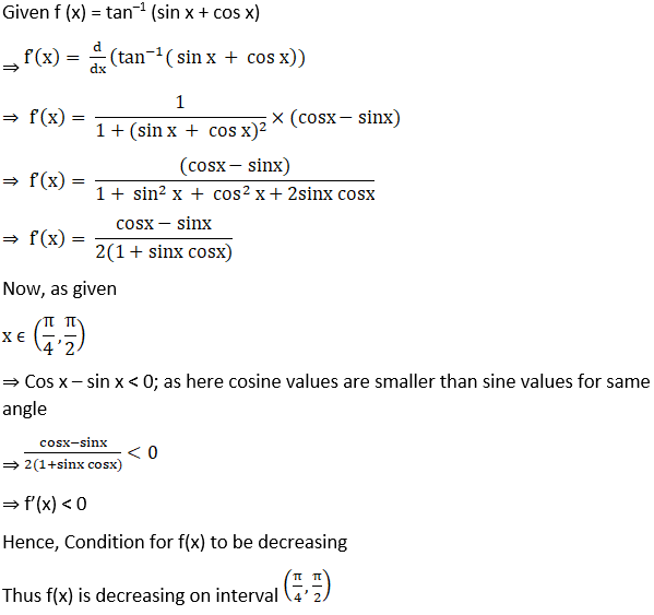 RD Sharma Solutions for Class 12 Maths Chapter 17 Increaing and Decreasing Functions Image 34