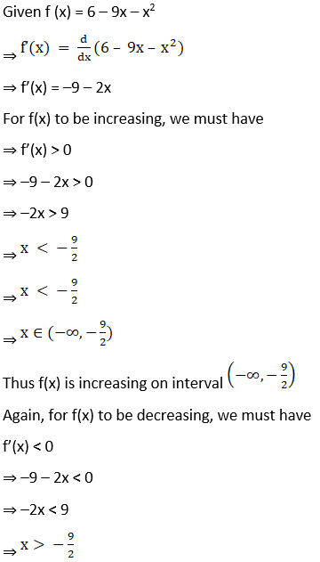 RD Sharma Solutions for Class 12 Maths Chapter 17 Increaing and Decreasing Functions Image 8