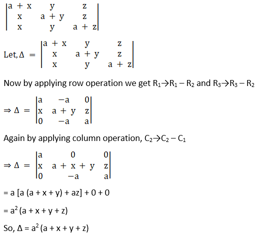 RD Sharma Solutions for Class 12 Maths Chapter 6 Determinants Image 107