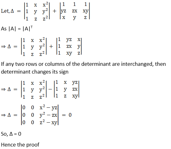 RD Sharma Solutions for Class 12 Maths Chapter 6 Determinants Image 110