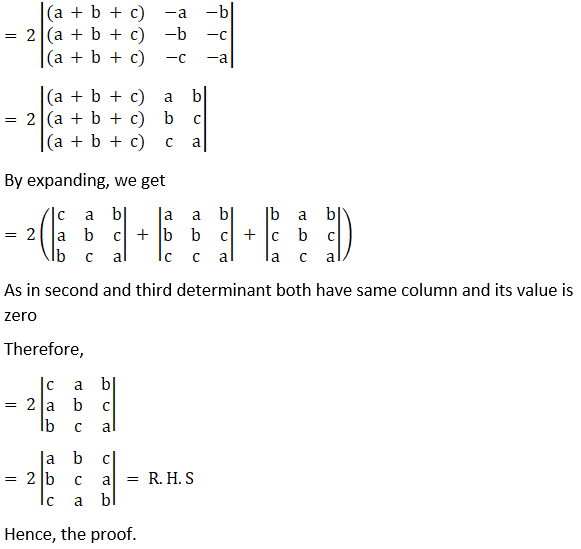 RD Sharma Solutions for Class 12 Maths Chapter 6 Determinants Image 118