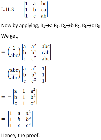 RD Sharma Solutions for Class 12 Maths Chapter 6 Determinants Image 132