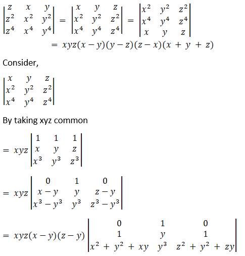 RD Sharma Solutions for Class 12 Maths Chapter 6 Determinants Image 135