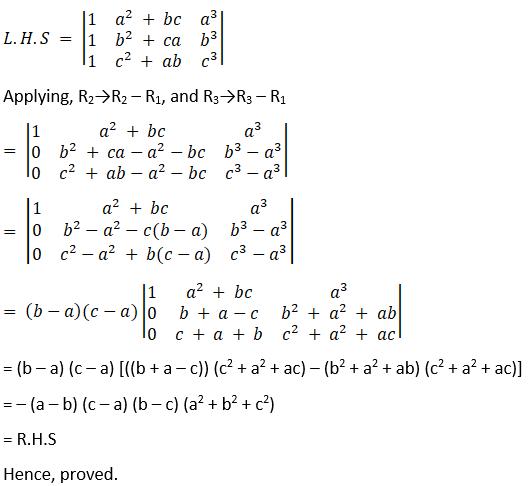 RD Sharma Solutions for Class 12 Maths Chapter 6 Determinants Image 145
