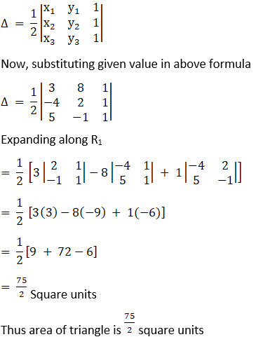 RD Sharma Solutions for Class 12 Maths Chapter 6 Determinants Image 157