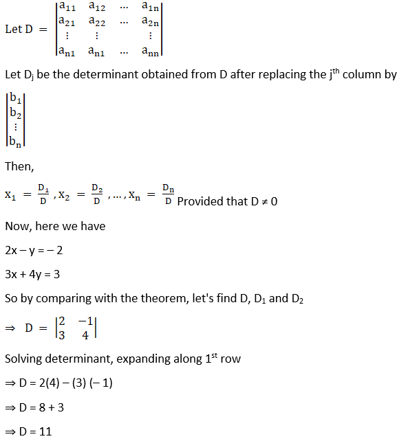 RD Sharma Solutions for Class 12 Maths Chapter 6 Determinants Image 191