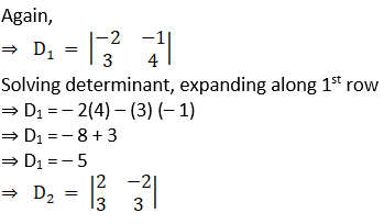 RD Sharma Solutions for Class 12 Maths Chapter 6 Determinants Image 192