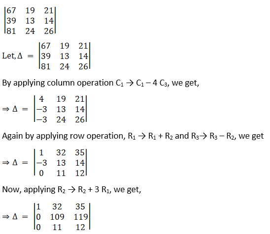 RD Sharma Solutions for Class 12 Maths Chapter 6 Determinants Image 43