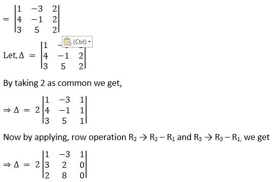 RD Sharma Solutions for Class 12 Maths Chapter 6 Determinants Image 45