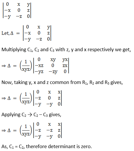 RD Sharma Solutions for Class 12 Maths Chapter 6 Determinants Image 80