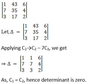 RD Sharma Solutions for Class 12 Maths Chapter 6 Determinants Image 81