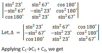 RD Sharma Solutions for Class 12 Maths Chapter 6 Determinants Image 87