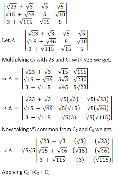 RD Sharma Solutions for Class 12 Maths Chapter 6 Determinants Image 91
