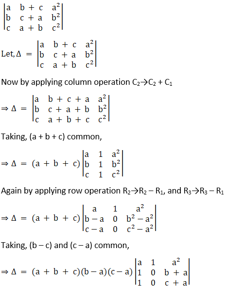 RD Sharma Solutions for Class 12 Maths Chapter 6 Determinants Image 95