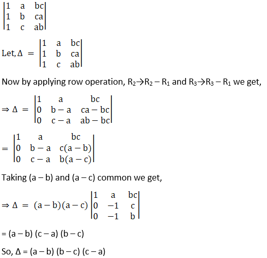 RD Sharma Solutions for Class 12 Maths Chapter 6 Determinants Image 97