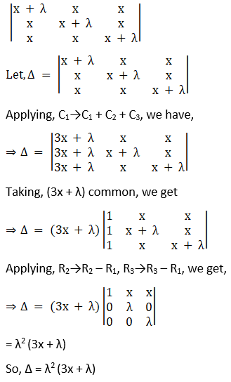 RD Sharma Solutions for Class 12 Maths Chapter 6 Determinants Image 99
