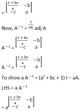 RD Sharma Solutions for Class 12 Maths Chapter 7 Adjoint and Inverse of a Matrix Image 109