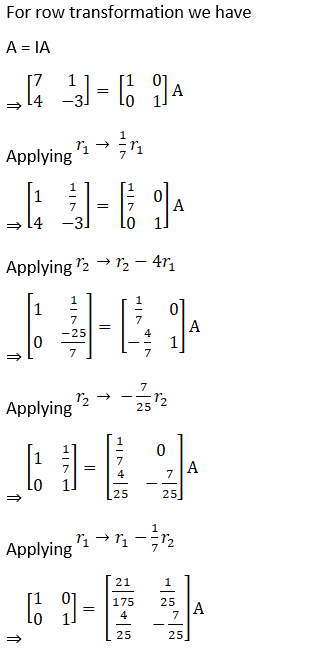 RD Sharma Solutions for Class 12 Maths Chapter 7 Adjoint and Inverse of a Matrix Image 132