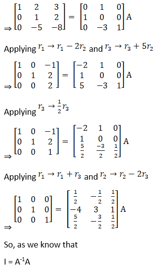 RD Sharma Solutions for Class 12 Maths Chapter 7 Adjoint and Inverse of a Matrix Image 148