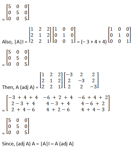 RD Sharma Solutions for Class 12 Maths Chapter 7 Adjoint and Inverse of a Matrix Image 23