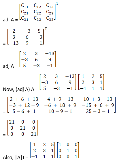 RD Sharma Solutions for Class 12 Maths Chapter 7 Adjoint and Inverse of a Matrix Image 25